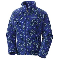 Columbia Youth Girl's Benton Springs II Printed Fleece Jacket