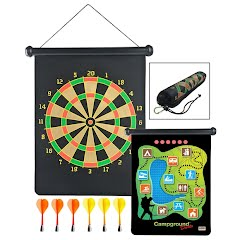 Gsi Outdoors Roll-Up Campground Magnetic Darts Image