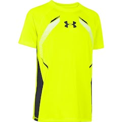 Under Armour Boy`s Youth Glow Short Sleeve Top Image