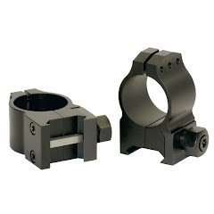 Warne 30mm X-High Tactical Scope Rings (Matte) Image