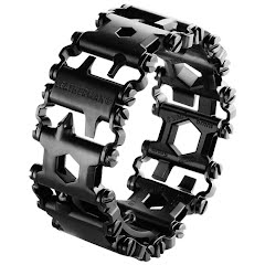 Leatherman Tool Tread Multi-Tool Bracelet (Black) Image