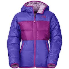 The North Face Girl`s Youth Reversible Moondoggy Jacket Image
