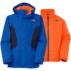 The North Face Boy`s Youth Boundary Triclimate Jacket Image