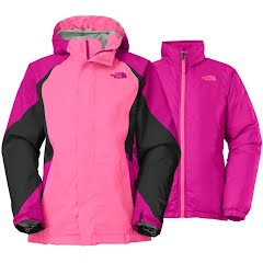 The North Face Girl`s Youth Kira Triclimate Jacket Image
