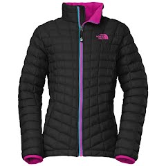 The North Face Girl`s Youth Thermoball Full Zip Jacket Image