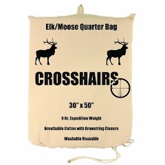 Crosshairs Elk/Moose 30x50'' Quarter 8oz Bag Image
