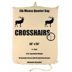 Crosshairs Elk/Moose 30x50'' Quarter 8oz Bag (4-Pack) Image