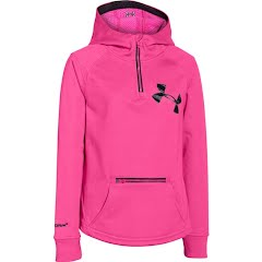 Under Armour Mountain Girl`s Youth UA Storm ColdGear Infrared Dobson 1/2 Zip Jacket Image
