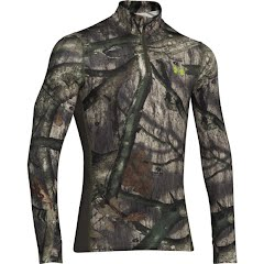 Under Armour Men`s ColdGear Infrared Tevo 1/4 Zip Image