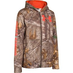 Under Armour Boy`s UA Caliber Camo Hoodie Image