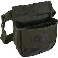 The Allen Co Double Compartment Heavy Canvas Shooters Bag Image