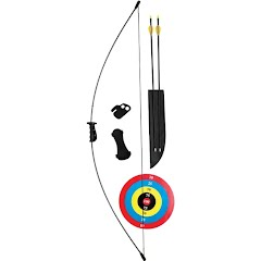 Fred Bear Archery Youth Crusader Bow Set (RH/LH) Image