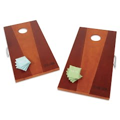 Viva Sol Wooden Bean Bag Toss Set Image
