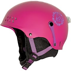 K2 Girl`s Youth Entity Snow and Bike Helmet Image