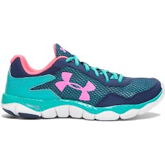 Under Armour Girl`s Youth Grade School UA Engage II Running Shoes Image