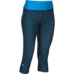 Under Armour Women`s UA HeatGear Armour Stripe Capri Tights Image