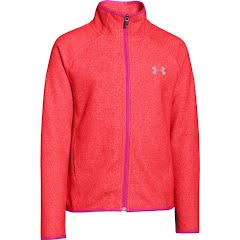 Under Armour Girl`s Youth UA ColdGear Infrared Fleece Full Zip Image