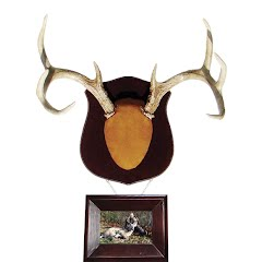 Do-all Outdoors True-Classic Antler Mount Kit with Frame Image