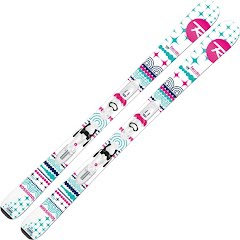 Rossignol Girl`s Youth Terrain Kid / Kid X 45 Ski and Binding System Image