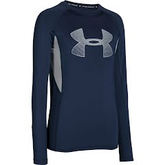 Under Armour HeatGear Armour Up Fadeaway Fitted Long Sleeve Shirt Image