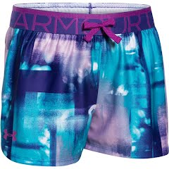 Under Armour Girl`s Youth Printed Play Up short Image