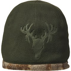 Hot Shot Men's Debossed Fleece Reversible Beanie Image