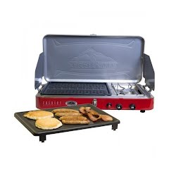 Camp Chef Rainier Campers Grill/Griddle/Stove Combo Image