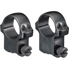Ruger M77 1 in. Medium Scope Rings (Blued Finish) Image