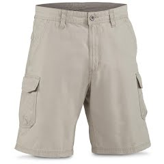 White Sierra Men's Northridge Cargo Short