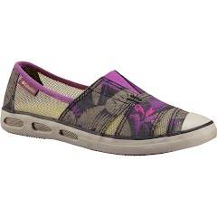 Columbia Women`s Vulc N Vent Slip-On Print Shoes Image