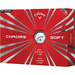 Callaway Chrome Soft Golf Balls (12 Pack) Image