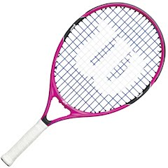 Wilson Youth Burn Pink 21 Junior Tennis Racket Image