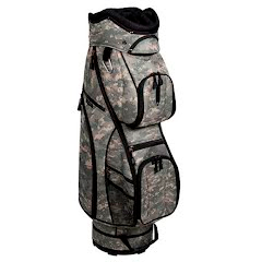 Pinemeadow Golf Courier Digital Camo Cart Bag Image