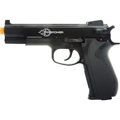 Palco Firepower .45 Spring Powered Airsoft Pistol Image