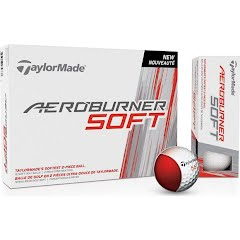 Taylor Made Aeroburner Soft Golf Balls (12 Pack) Image