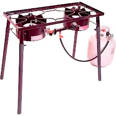 Camp Chef Pioneer Two Burner Stove Image