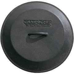 Camp Chef Seasoned 10 In. Cast Iron Skillet Lid Image