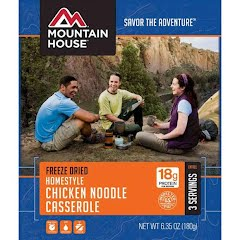 Mountain House Homestyle Chicken Noodle Casserole (Serves 3) Image