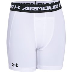 Under Armour Youth Boy's HeatGear Armour Fitted Mid Short Image
