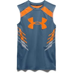 Under Armour Youth Boy`s HeatGear Armour Up Fadeaway Fitted Tank Image