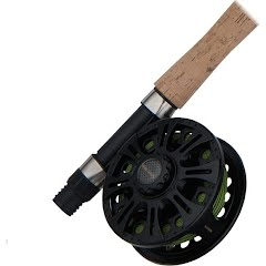 Shakespeare Wild Series 9ft 5wt 2-Piece Fly Fishing Rod and Reel Combo Image