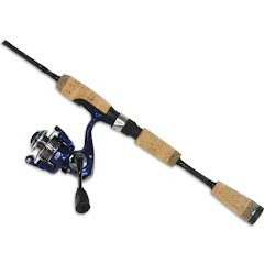 Pflueger Trion Trout Edition 5ft 6in 2-Piece Spinning Rod and Reel Combo Image