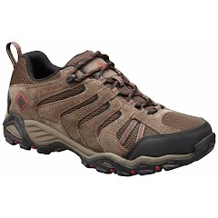 Columbia Men`s North Plains II Waterproof Leather Low Top Trail Hiking Shoes (Wide) Image