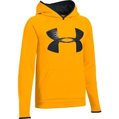 Under Armour Youth Boy`s UA Storm Armour Fleece Highight Big Logo Hoodie Image