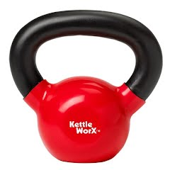 Lifeline Usa KettleWorx 8 week Rapid Evolution w/ 10 Pound Kettlebell Image
