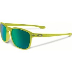 Oakley Enduro Sunglasses (Matte Fern/Jade Iridium Polarized) Image
