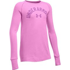 Under Armour Youth Girl`s UA Waffle Long Sleeve Image