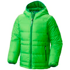 Columbia Youth Boy's Gold 550 Turbodown Hooded Down Jacket Image