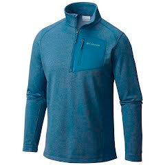 Columbia Men's Jackson Creek Half Zip Fleece Long Sleeve Shirt Image