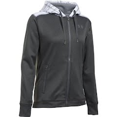 Under Armour Women`s UA Icon Caliber Full Zip Hoodie Image